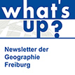 Mai 2020 - Der Newsletter der Geographie Freiburg ist da